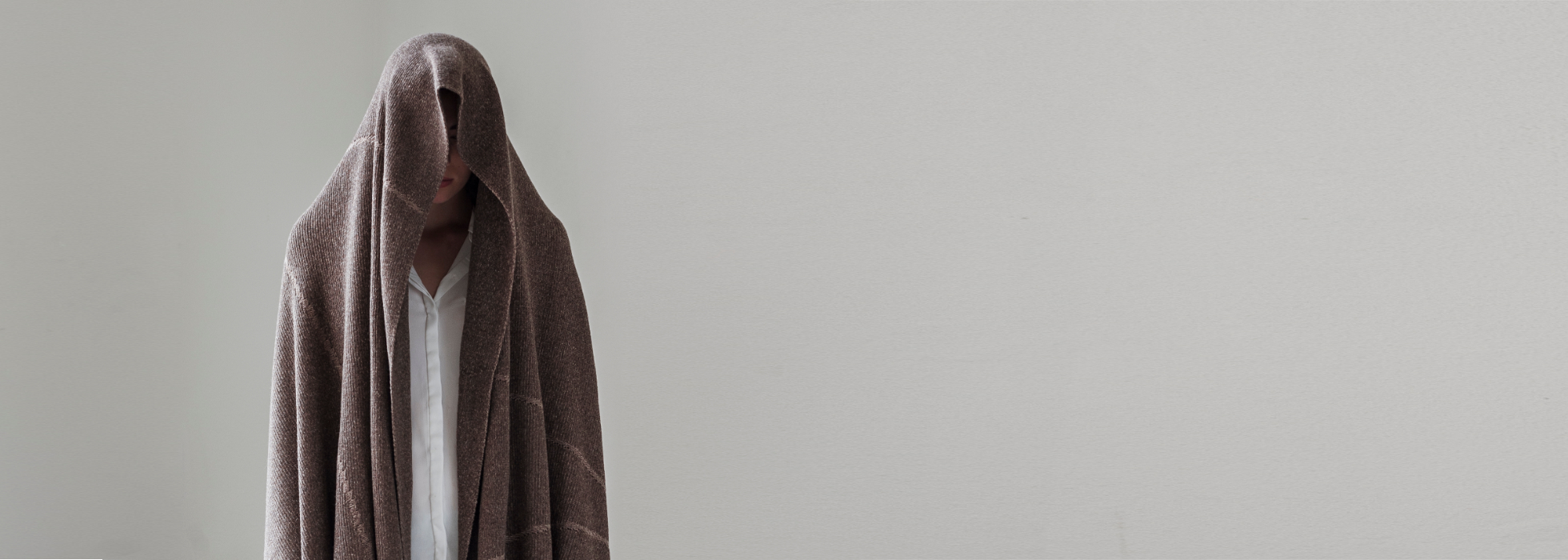 STRIKKS designer knits deken bruin